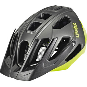 UVEX Quatro Bike Helmet yellow/black
